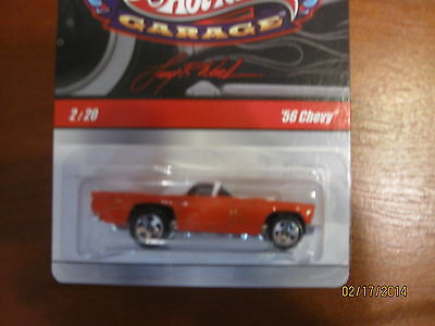 """HOT WHEELS '56 CHEVY""""ÖOPS RARE MISTAKE"""" LARRY'S GARAGE #N9046NEW IN PACK 2008"""