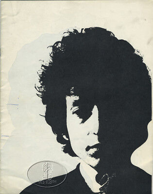 BOB DYLAN 1966 HIGHWAY 61 UK Tour Concert Program Programme Book