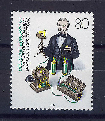 ALEMANIA/RFA WEST GERMANY 1984 MNH SC.1410 Philipp Reis,inventor