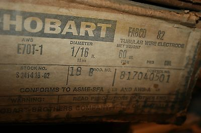 """Hobart Brothers E70T-1 1/16"""" Flux Core Mig Welding Wire 60 LB. Spool"""
