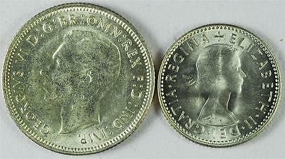 2 Australian Silver Coins, Ships For Free, FORa7