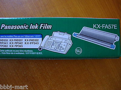 3 X Genuine Panasonic Ink Film KX-FA57E Made In Japan