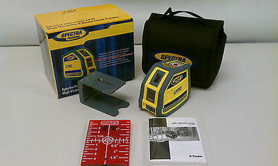 Spectra LP30 Interior Laser Level, 3 Beam Trimble w Telescoping Laser Pole