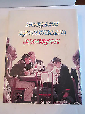 Norman Rockwell's America - Book - 1975 - Excellent Condition