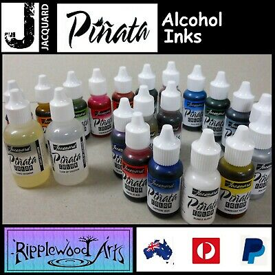 Alcohol Inks JACQUARD PINATA 14ml-28ml Bottles Vibrant and Versatile +New Colors