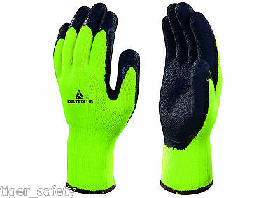 Delta Plus Venitex VV735JA Apollon Winter High Visibility Coated Work Gloves PPE