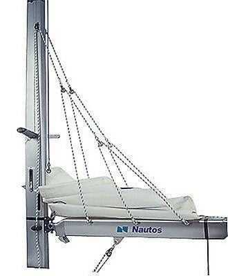 Nautos 001R - Lazy Jack A - Small Size - Complete Set Of Blocks, Cleats And Rope
