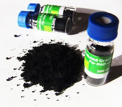 Reduced Graphene Oxide, Solid, 200 mg