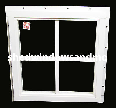 Shed Square Window J-Channel Playhouse Chicken Coop Storage Shed Barn Treehouse