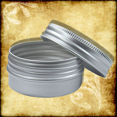 15ml Aluminium Tin/Jar/Containers With Screw Lids Lip Balm, Cosmetic 10,5,3,2,1