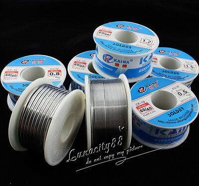 Bulk 10g/100g 60/40 Tin lead Solder Wire Rosin Core Soldering 2% Flux Reel Tube