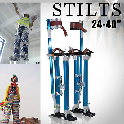 Plastering Stilts 24-40Inch Large Size Builders Plaster Drywall Tool Aluminum