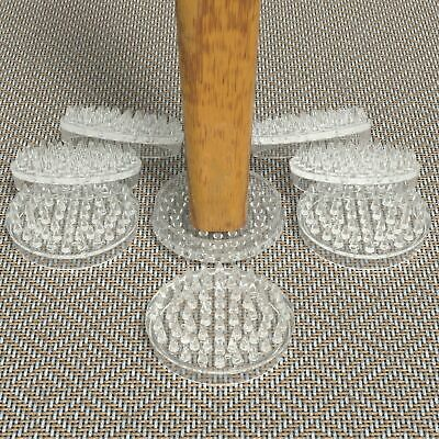 8x Carpet Savers Protect Floors No More Furniture Marks Chair Table Castor Cups