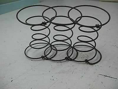 """3 UPHOLSTERY 6"""" COIL SPRINGS 9 GAUGE SEAT SETTEE CHAIR ACCESSORIES r • £7.75"""