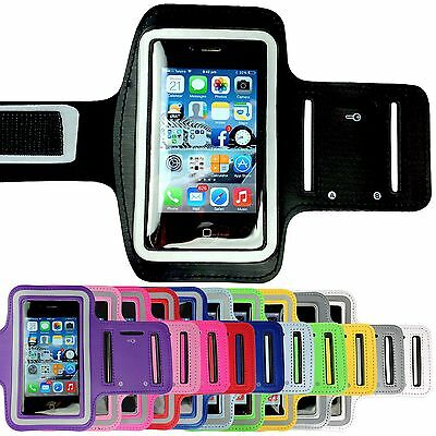 Sports Gym Running Armband Pouch Arm Band Cover for Apple iPhone SE 5S 5C 5 4S 4