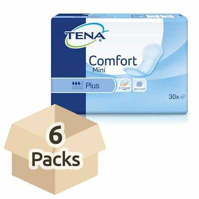 TENA Comfort Mini Plus - Case - 6 Packs of 28 - Incontinence Pads