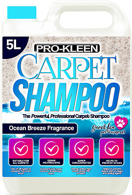 Carpet Shampoo Cleaning Solution Extraction Cleaner Pet Compatible With Vax