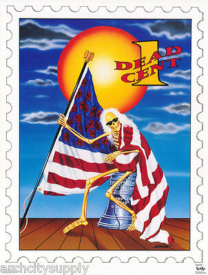 Poster:art:music: Grateful Dead - One Dead Cent - Gary Kroman - Free Ship Rp64 O