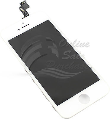 LCD Display and Touch Screen Digitizer Assembly For iphone 5S white