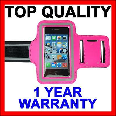 PINK Sports Gym Running Armband Arm Case Band Cover For Apple iPhone 5S 5C 5 4S