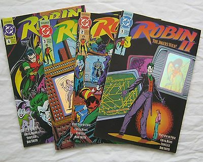 4 Issues Robin II The Jokers Wild #1-4 Complete VG