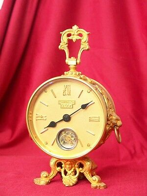 CARRIAGE CLOCK Round  Tourbillon Carriage Clock GOOD PRICE GOOD QUALITY