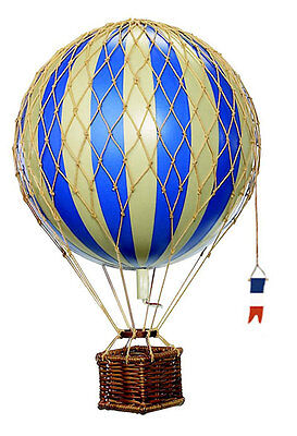 Authentic Models Hot Air Balloon Blue Mobile 18cm
