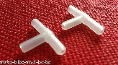 2x Airline Tee Piece For Air Pump Rotifiers Copepods Tropical Marine Aquarium