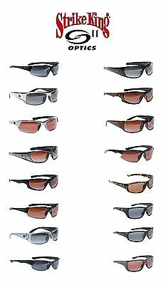 Strike King S11 Optics Polarized Sunglasses - Select Frame(s)