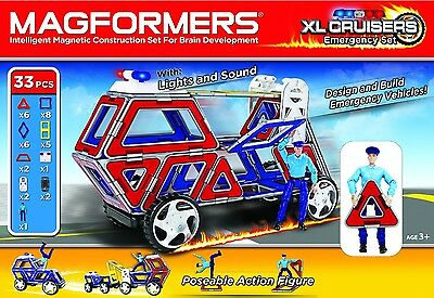 "MAGFORMERS 33 teiliges SET ""XL Cruiser Emergency""                         274-23"