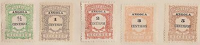 (EH52) 1914-38 Angola mix of 18 stamps