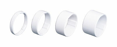 BBB BHP-36 Light Space 1 1/8 Headset Spacers - White / Black