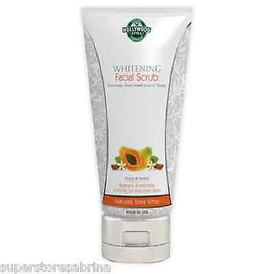 Hollywood Style Whitening Exfoliating Facial Scrub Professional CleansingFormula