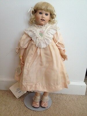 """Gorham Gift Of Dreams Doll 1991 Collectible Limited Edition 20"""" #939/1000"""