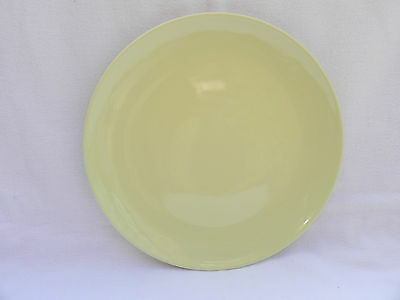 Branksome China DESSERT / SALAD PLATE 23cm.YELLOW,Excellent.