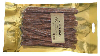 Droewors / Dry wors 600g; 3 x 200g Bags Droewors, Dried Meat, low fat
