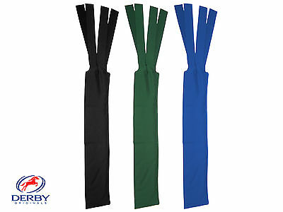 Derby Originals Lycra Horse Tail Bags -Green, Blue, or Black