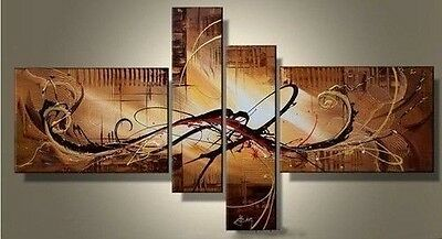 MODERN ABSTRACT HUGE WALL ART OIL PAINTING ON CANVAS (NO framework)