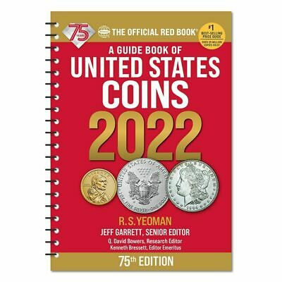 The Official 2021 Red Book Guide to Coins - Spiral Bound  - 74th Ed