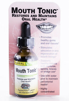Herbs, Etc.Mouth Tonic - 1 oz. Professional Strength Herbal Tincture