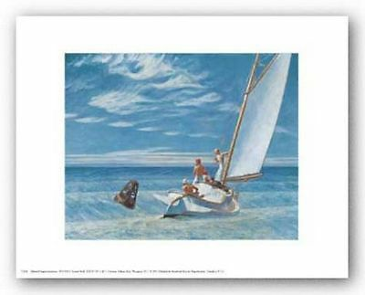 91.5X61cm Edward Hopper The Long Leg 1930 Art Poster Print 36X24