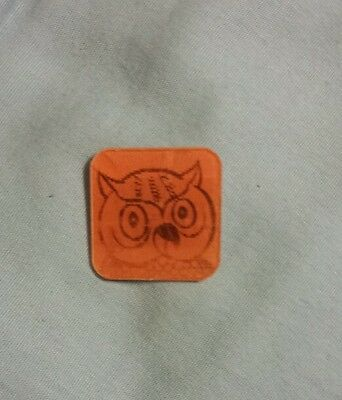 Vintage Woodsy The Owl Give A Hoot Don't Pollute mini Hologram holographic card