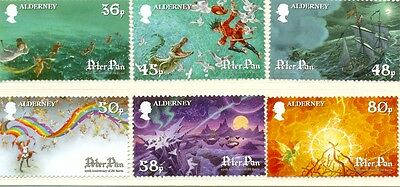 Alderney-Peter Pan set of 6 mnh