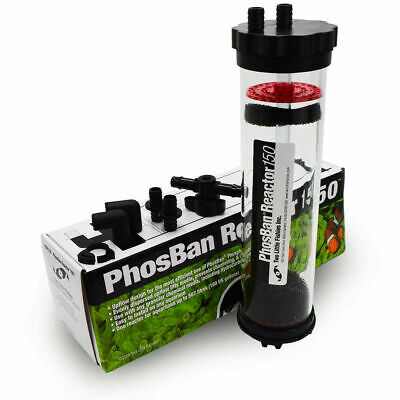 Two Little Fishies Phosban Reactor 150 - Aquarium Water Filter Gfo, Carbon