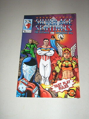 d20: Silver Age Sentinels: Fast Play Rules (New)