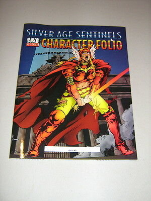 d20: Silver Age Sentinels: Character Folio (New)