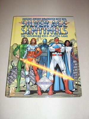 TriStat d10: Silver Age Sentinels (HC) (New)