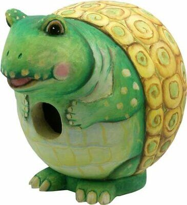 "Songbird Essentials Bobbo ""Gord-O"" Birdhouse, Turtle, SE38800-94"