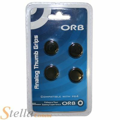 Orb Thumb Grips For Playstation 4 Dualshock Controller Analogue Stick Rubber