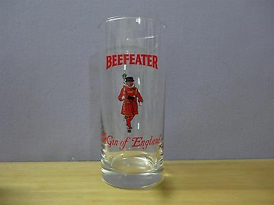 """Beefeater """" The Gin of England"""" Tall Bar Glass 13.5 cm = 5.4"""""""